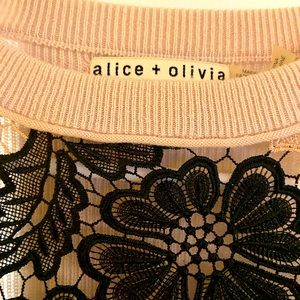 Alice & Olive lacy sweater
